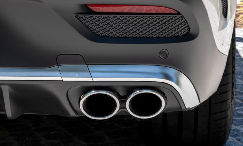 Mercedes-Benz GLE Coupe Exhaust